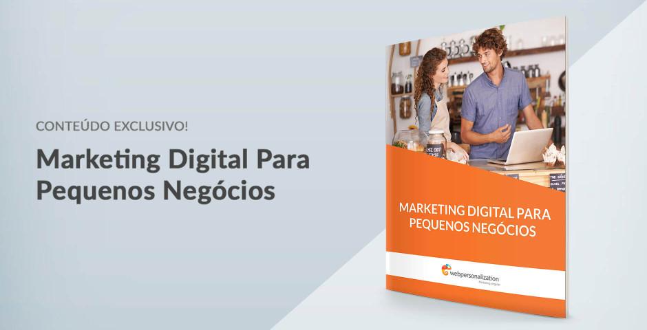 Novo eBook: Marketing Digital para Pequenos Negócios