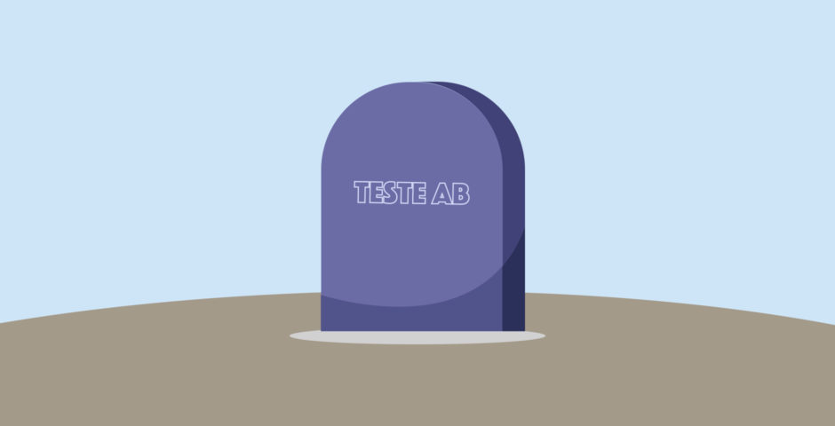 Adeus teste AB